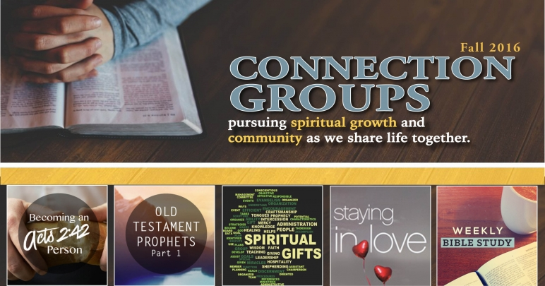 2016 Fall Connection Groups